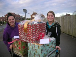 Xmas hamper delivery in Filey